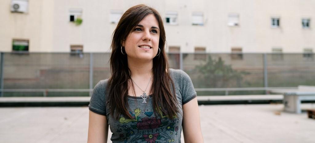 Laura Díaz, mentora AFEV