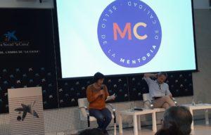 Laia Bernués a la presentació del Segell MC